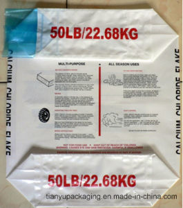 China Block Bottom PE Cement Bag pictures & photos