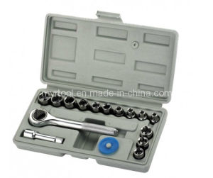 "17PC Best Selling - 1/4""Dr Auto Repair Socket Tool Kit (FY1017B) pictures & photos"