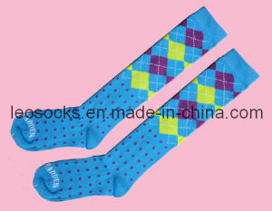 Women /Ladies Cotton Long Stoking Socks pictures & photos