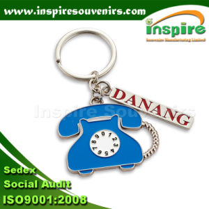 Customized Telephone Key Ring for Promotion Gift (CAN546) pictures & photos