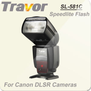 Travor Hot Selling Ttl Speedlite Flash for Canon SL-581c