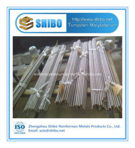 Shibo Star Product 99.95% Pure Molybdenum Rods for Sapphire Growing Furnace with Factory Wholesale Price pictures & photos