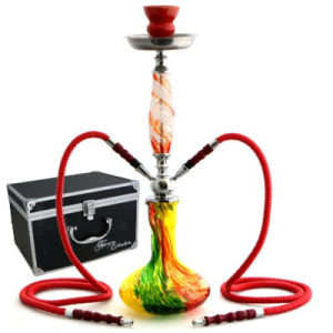 Bontek Factory Price Shisha for Smoking Rainbow Color 2 Hose pictures & photos