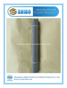 Factory Direct Sale Pure Molybdenum Rod with High Purity 99.95% pictures & photos