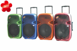 Portable Bluetooth Wireless Trolley Battery Speaker F23 pictures & photos