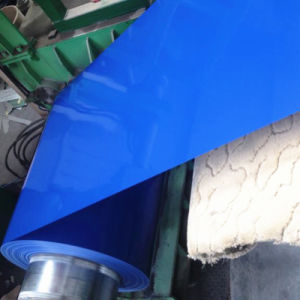 CRC Color Coated Steel Coil Sea Blue PPGI Steel Strip pictures & photos