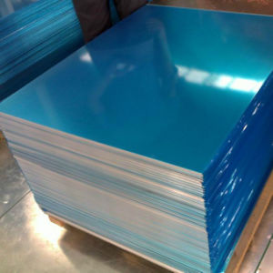 1050, 1100, 3003, 5052, 6063, 6061 Aluminum Sheet with PVC Film Coted pictures & photos