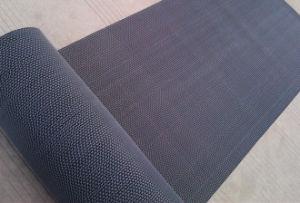 PVC Plastic Vinyl Mesh Z S Shape Door Flooring Floor Roll Runner Mats pictures & photos