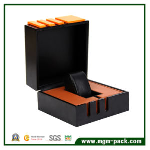 Elegant Clamshell Business Packaging Watch Box pictures & photos