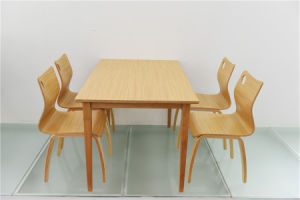 China Dining Room Furniture Wooden Restaurant Table (FOH-CXSC36) pictures & photos