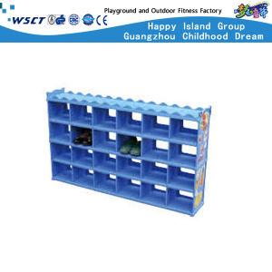 Plastic Kindergarten Furniture Kids Storage Cabinet (HC-4708) pictures & photos
