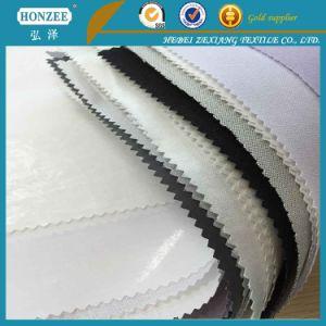 0.26 White Color Low Formaldehyde Content Comfortable Cap Interlining