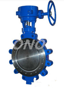 ANSI Standard Folder Connection Metal Seal Lug Type Butterfly Valve pictures & photos