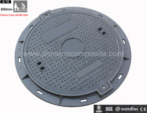 En124 650mm Round SMC/FRP Telecom Manhole Cover / Inspection Cover pictures & photos