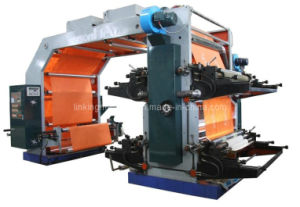Flexographic/ Flexo Printer for Plastic Film and Paper (WS884-1400) pictures & photos
