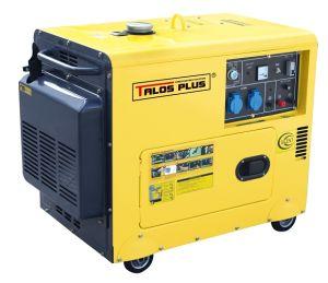 5 kVA Silent Diesel Generator (DG6500ES) pictures & photos