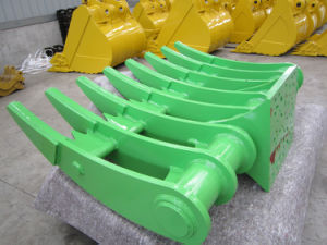 20 Tonne Excavator Parts of Excavator Rake Bucket pictures & photos