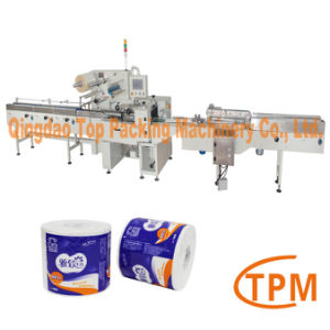Heat Sealing PE Film Toilet Tissue Packaging Machine pictures & photos