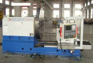 CNC Heavy Facing Lathe Machine with Fanuc Controller (CK64160) pictures & photos