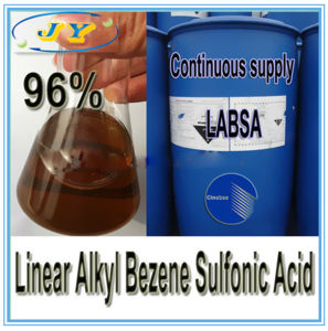 Linear Alkyl Benzene Sulfonic Acid, LABSA 96% LABSA Plant