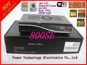 Set Top Box Dm800HD Se Dreambox 800se 800HD Se with WiFi and Bcm 4505 Tuner DVB-S