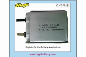 3V Ultra Thin Lithium Battery 353648 pictures & photos