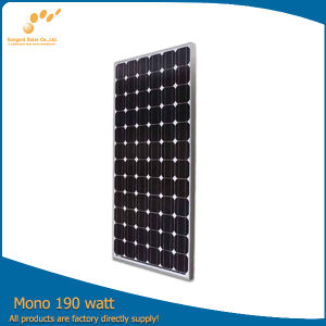 Mono Crystalline 190watt Solar Panel for Sale