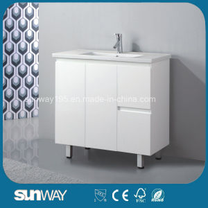 Wall Hung Design Bathroom Furniture with Good Quality (SW-F500T) pictures & photos