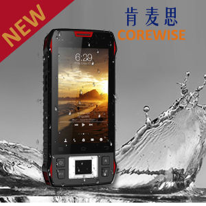 Industrial 4G Smartphone with Fingerprint Sensor/RFID Reader/Handheld Barcode Scanner pictures & photos