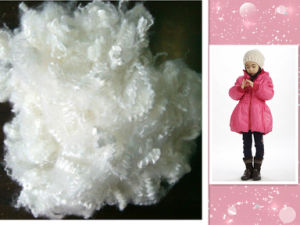 New and Popular! Down Fiber for Filling Jacket