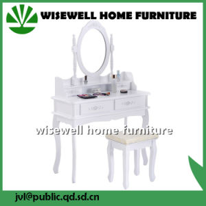 Modern Appearance Wood Dressing Table Without Mirror (W-HY-026T) pictures & photos