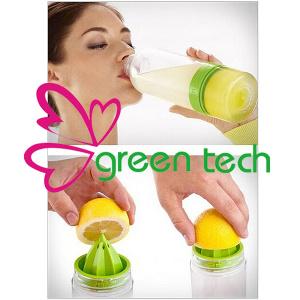 BPA Free Tritan Material Lemon Cup Kid Zinger Citrus