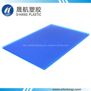 2100*6000mm Polycarbonate Frosted Sunshine Panel with UV pictures & photos
