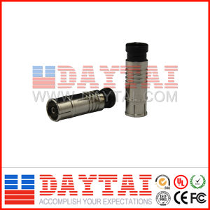 China CE Approved Rg59/RG6 Iecf CATV Compression F Connector pictures & photos