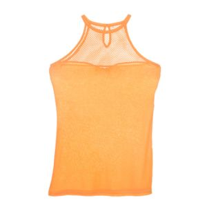 Fashion Apparel Summer Women Sleeveless Fishnet Underwear Tank Top pictures & photos