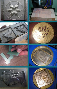 Heavy Duty Metal Medal CNC Carving Machine pictures & photos