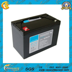 12V90ah Deep Cycle Solar Battery pictures & photos