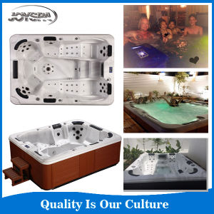 Joyspa 6person Hydro Massage Party Outdoor SPA with Overflow (JY8002) pictures & photos