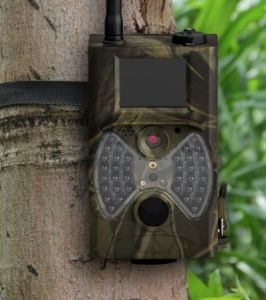 Outdoor 12MP 1080P Wildlife Camera Black IR SMS Command (HC300M)