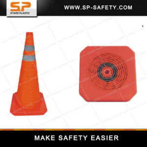 Collapsible Safety Traffic Cones with Reflective Tape pictures & photos
