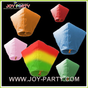 Diamond Flying Wish Lantern for Event Ceremony pictures & photos