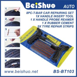 Motorcycle Car Tubeless Tire Tyre Puncture Plug Quick Repair Tool Kit pictures & photos