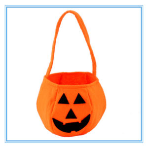 Halloween Non-Woven Portable Pumpkin Basket / Bag pictures & photos