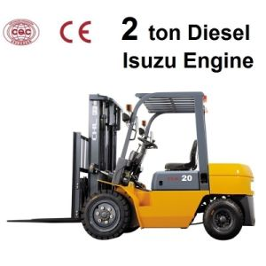 2 Ton Prices for Forklifts with Diesel Isuzu Engine (CPCD20) pictures & photos