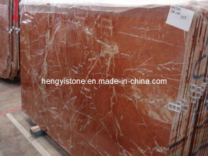 Red Marble Decorative Indoor Stone Wall Tiles Tile