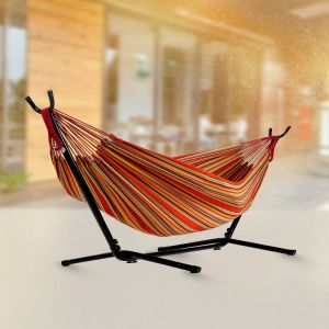 Garden Hammock with Metal Hammock Stand pictures & photos