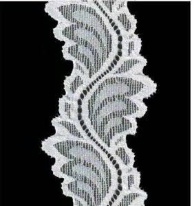 Wave Shape Raschel Lace Trim pictures & photos