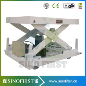 1ton 3ton Hydraulic Stationary Scissor Lift pictures & photos