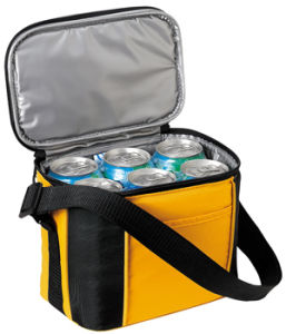 6 Cans Insulated Shoulder Cooler Bag (MS3110) pictures & photos