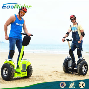 2 Wheel Brushless 4000 Watt Self Balancing Scooter 1266wh 72V Double Battery Golf Electric Scooter pictures & photos